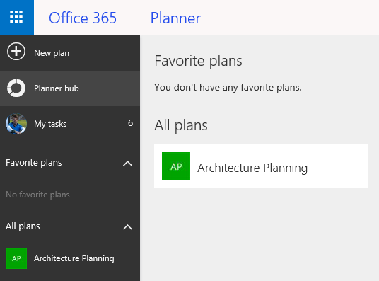 05 Planner hub with the plan