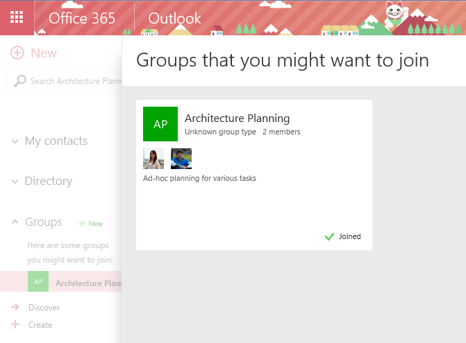 04 Joining the plan from Outlook on the web