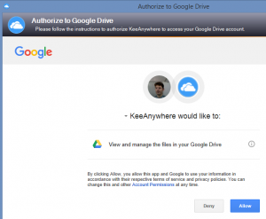 01-authorise-keeanywhere-for-google-drive